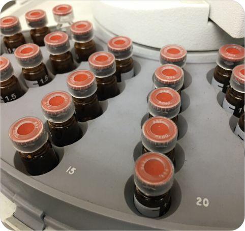 Composant plastique en PTFE pour l'industrie de la chimie