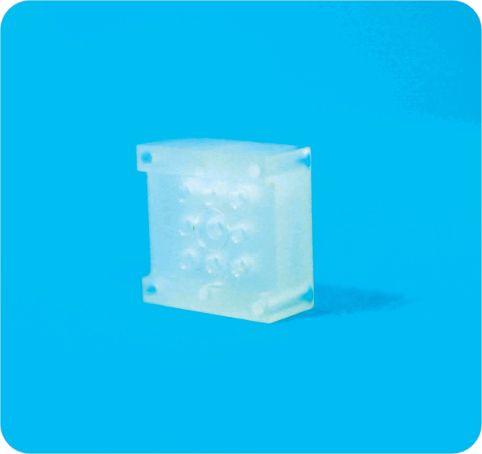 Composant PCTFE cryogénie