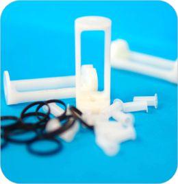 Composants plastiques pour les vannes et les pompes