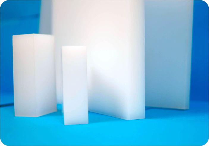 Plaque ou ébauche polymère fluoré