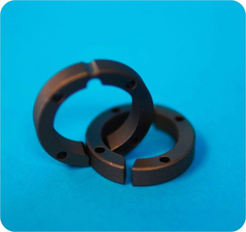 PTFE compounded graphite