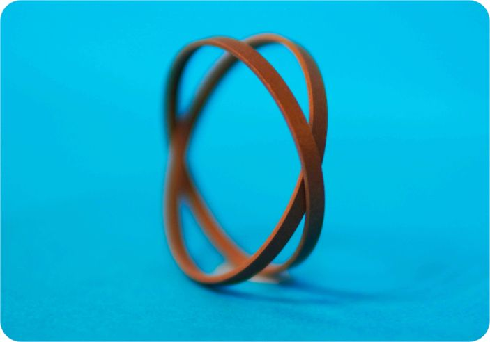 PTFE bronze compounded