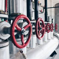 Plastiques techniques pour vanne / pompe industrielle