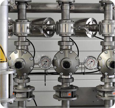 pctfe industrie ventil
